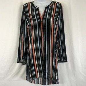 DR2 Oversized Stripped Tunic